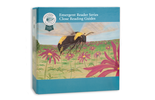 Close Reading Teacher's guides for the Emergent Reader Series
