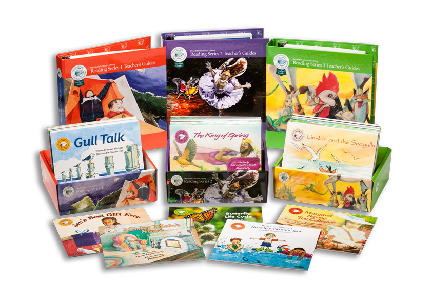 Decodable Literature Library Classroom Set includes decodable books, Foundational Skills and Close Reading Guides