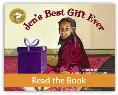 Jen's Best Gift Ever Full decodable book preview