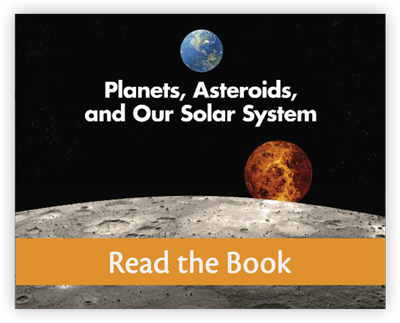 Planets, Asteroids, and Our Solar System full decodable book preview