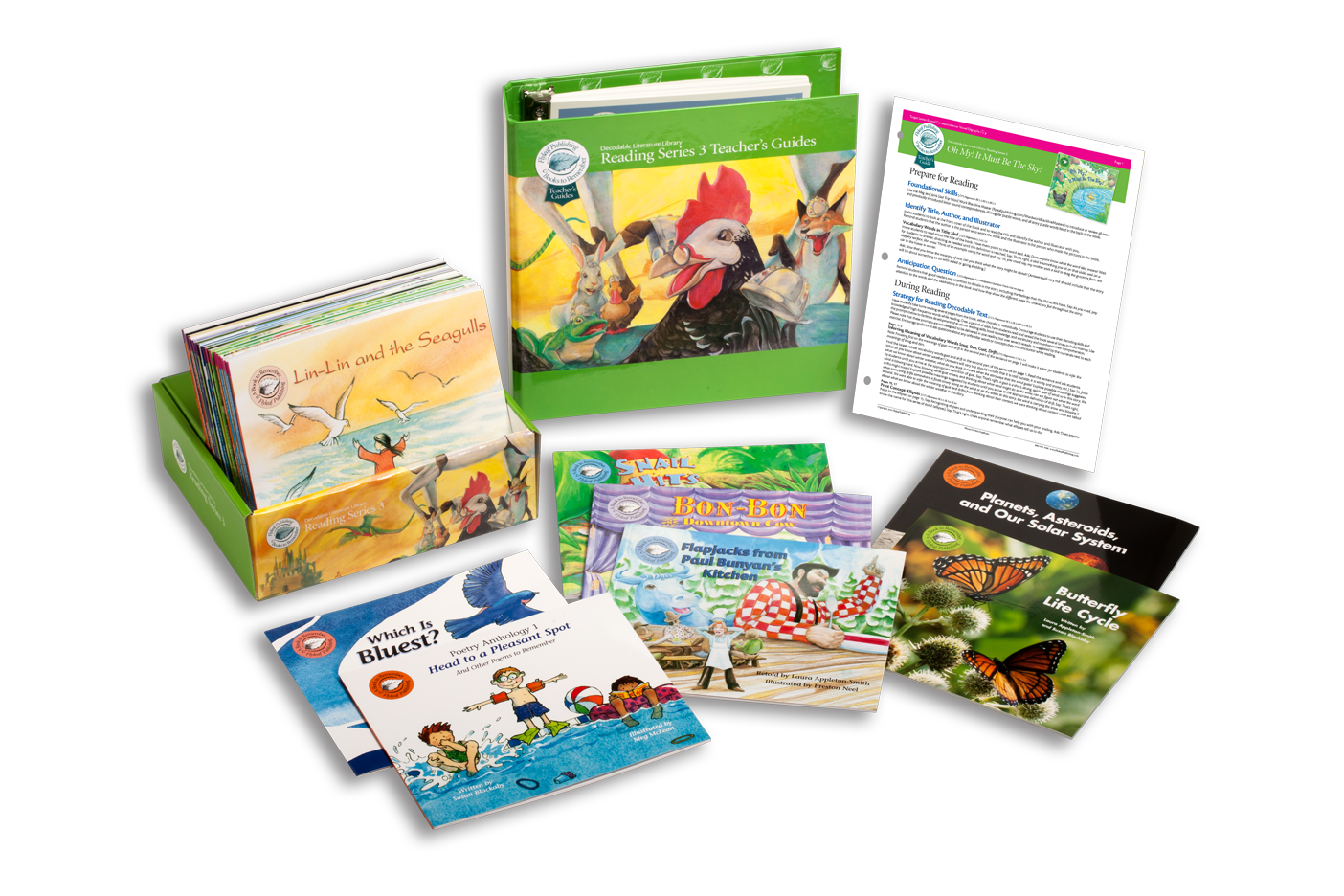 Reading Series Three Classroom Set with decodable books and teacher's guides