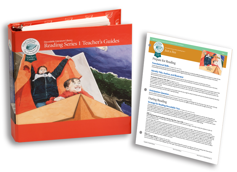 Reading Series One Foundational Skills Guides for decodable books