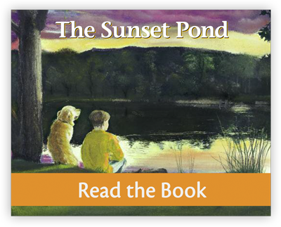 The Sunset Pond full decodable book preview