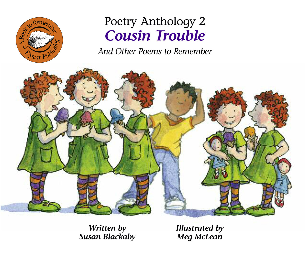 Poetry Anthology 2 Cousin Trouble And Other Poems To Remember