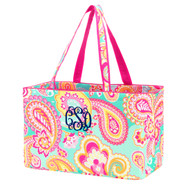 Mint Paisley Ultimate Tote
