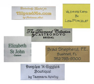 Personalized Fabric Clothing Label - 3 Line Layout