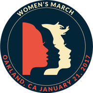 Women's March Oakland California 2017 Round Patch with Faces