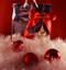Custom logo ribbon and an ornament make a great gift bag idea.