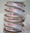 Personalized printed ribbon with names for easy holiday gift wrap