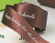 "Personalized 1 1/2"" Satin Ribbon"