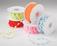 Pom Pom Wire Edge Ribbon