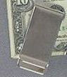 "Personalized 2"" Simple Money Clip"