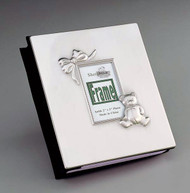 Personalized Baby Album with Pewter Finish