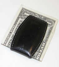 Personalized Black Money Clip