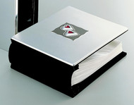 Personalized Horizontal Photo Album with Red Hearts