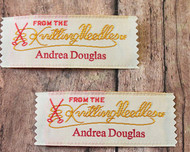 Clothing Lable - From the Knitting Needles of
