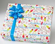 Christmas Lights Gift Wrap