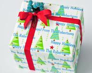 Christmas Trees Gift Wrap