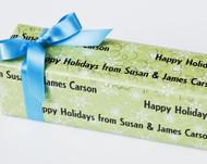 Snowflakes Gift Wrap