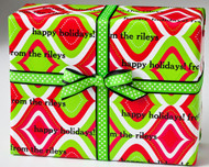 Christmas Kissy Lips Gift Wrap