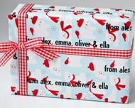 Polar Bears Gift Wrap