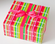 Colorful Stripes Gift Wrap