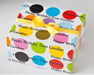 Colorful Dots Gift Wrap
