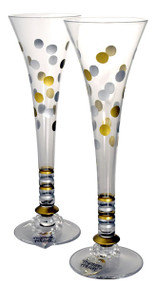 Pair of Together Forever Toasting Flutes