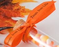 "Personalized 5/8"" Satin Halloween Ribbon"