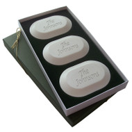 Name or Phrase Trio Soap Set