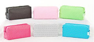 Small Polka Dot Cosmetics Bags