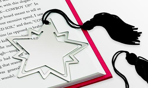 Star Bookmark with Tassel