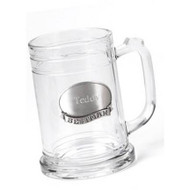 Personalized 16 oz. Mug with Pewter Medallion