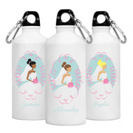 Personalized Bride Water Bottles