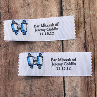 Clothing Label - Bar and Bat Mitzvah