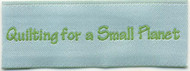 Personalized Fabric Quilting Labels - 1 Line Layout