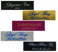Personalized Fabric Clothing Label - 2 Line Layout