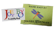 Custom Woven Knitting Labels