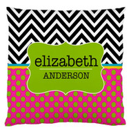 Chevron Hype Custom Designer Pillows