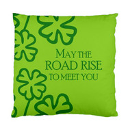 May the Road Rise to Meet You Custom Designer Pillows