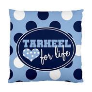 Tarheel for Life Custom Designer Pillows