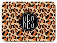 Leopard Block Monogrammed Custom Designer Cutting Boards