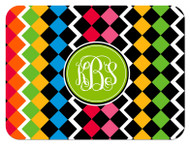 Mosaic Monogrammed Custom Designer Cutting Boards