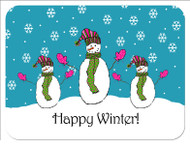 Happy Winter! Custom Designer Cutting Boards