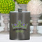 Girls Party Flasks with Name - Dancing Queen Flask