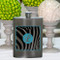 Girls Party Flasks with Initials - Zebra Flask