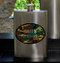 Guys Party Flasks with Name and Date - Camo Flask
