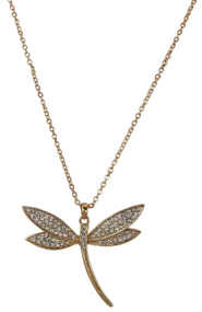 Fly Away with Me Dragonfly Necklace