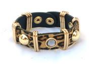 Leopard Animal Print Bracelet