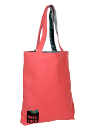 The Zack Cotton Canvas Preppy Tote in Nantucket Red